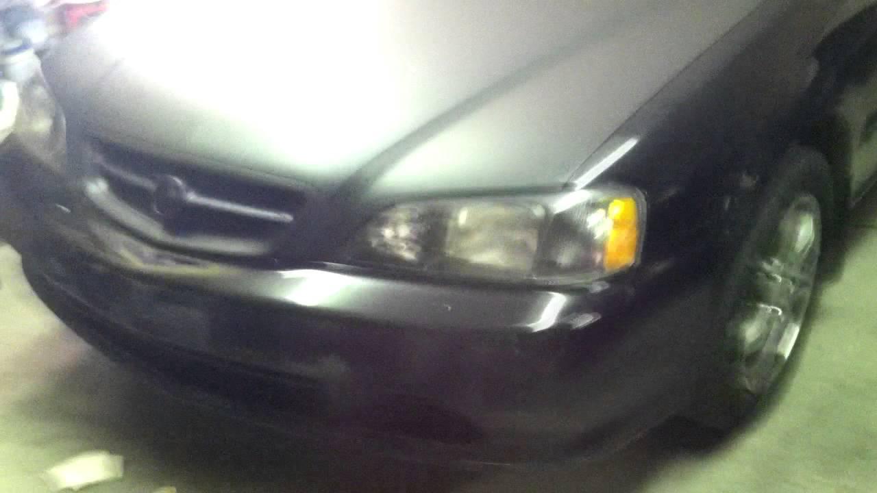 Plasti Dip Headlights And Restoration 1999 Acura TL