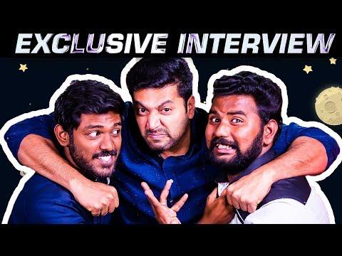 Jayam Ravi's Most Irritating Interview | Tik Tik Tik | Son Aarav | Nivetha Pethuraj