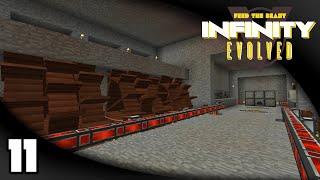 infinity evolved ep 11 the waterwheel room   ftb infinity evolved expert mode