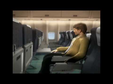 Malev Hungarian Airlines Safety Video Boeing 767 English and Hungarian