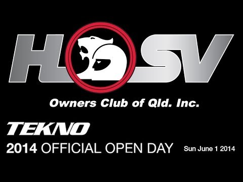 Tekno Open Day - Sunday 1st June 2014