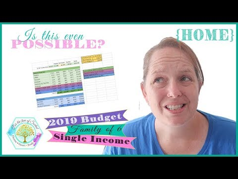 Our One Income Family Budget & Debt Repayment Plan (and Free Spreadsheet)