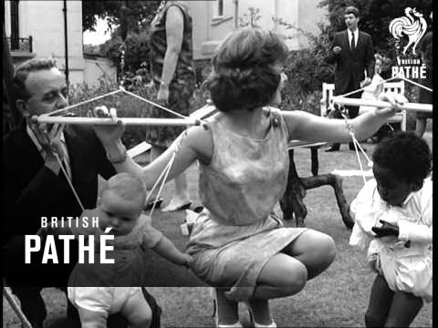 Lady Hoare's Thalidomide Children's Party 1963
