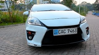 Turbo Brothers (SINHALA Vehicle Reviews) - Toyota Prius G Sports review
