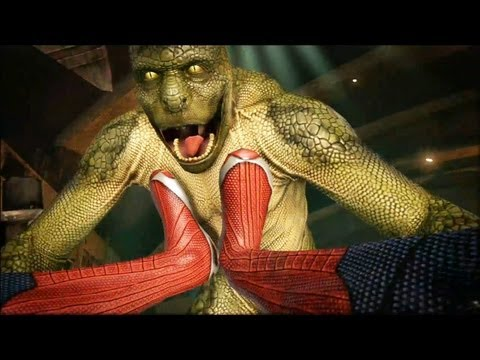 The Amazing Spider-Man Vs Lizard (o Lagarto)