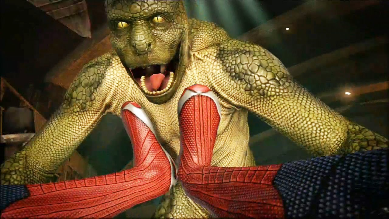 Playing as the Lizard in The Amazing Spider-Man! (DLC ...