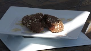 How To Make Almond Cashew Butter Chocolate Cookies Recipe  2015