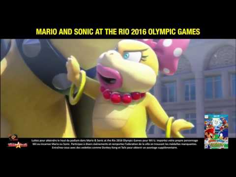 Mario and Sonic at The Rio 2016 Olympic Games (WiiU)