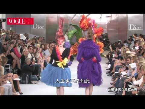 2010秋冬高級訂製服 Dior
