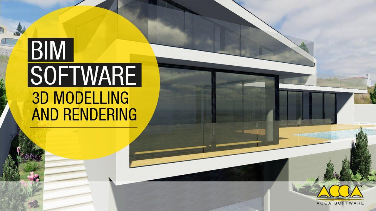 software bim para el proyecto de arquitectura 3d acca