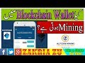 Kia Blockchain Wallet Main BTC Ki Mining Hoti Hai? Urdu/Hindi By Zakria 2018