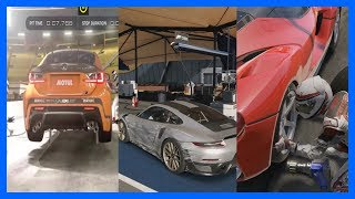 Forza 7 Vs GT Sport Vs Project Cars 2 Vs Assetto Corsa Vs F1 2017 PIT STOP Comparison