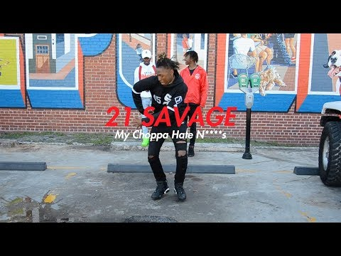 21 Savage - My Choppa Hate N****s (Official NRG Video)