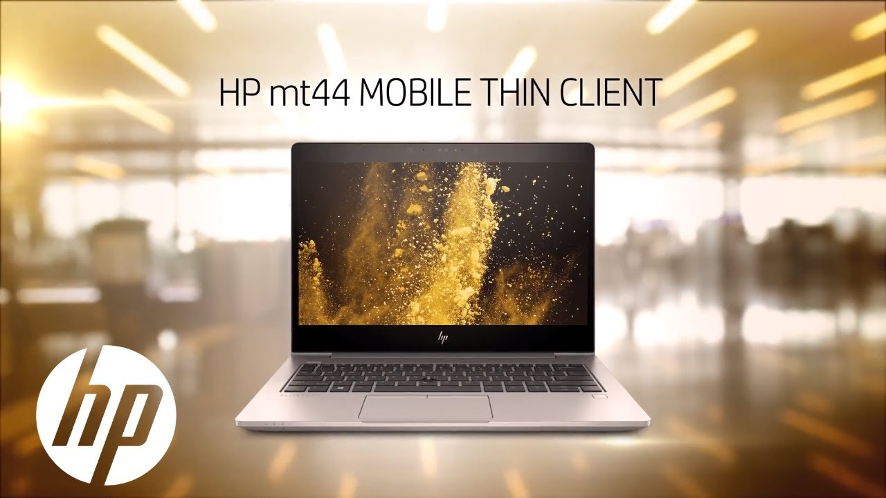 HP mt44 Mobile Thin Client | Sleek, Secure And Performance On-The-Go | HP