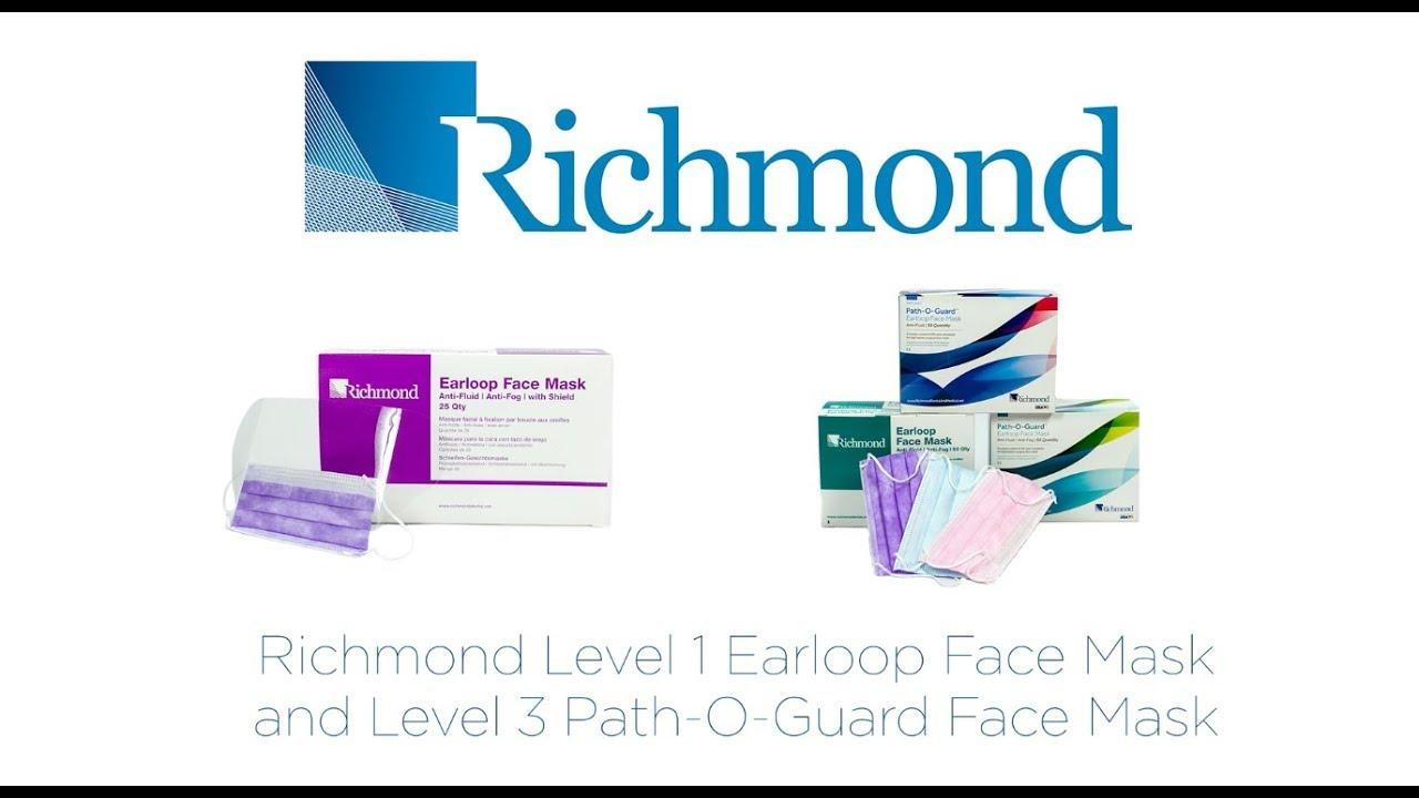 Dental Richmond Face Medical amp; Combined Masks