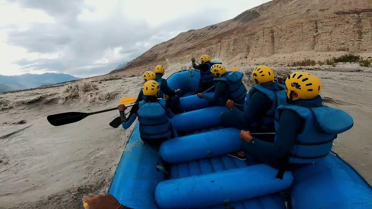 River Rafting in Khardung La | GoPro Hero 7 Black | Adventurous