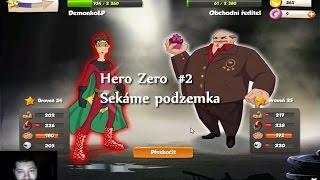 Hero Zero – The Free Browser Game! Sekáme podzemka  #2