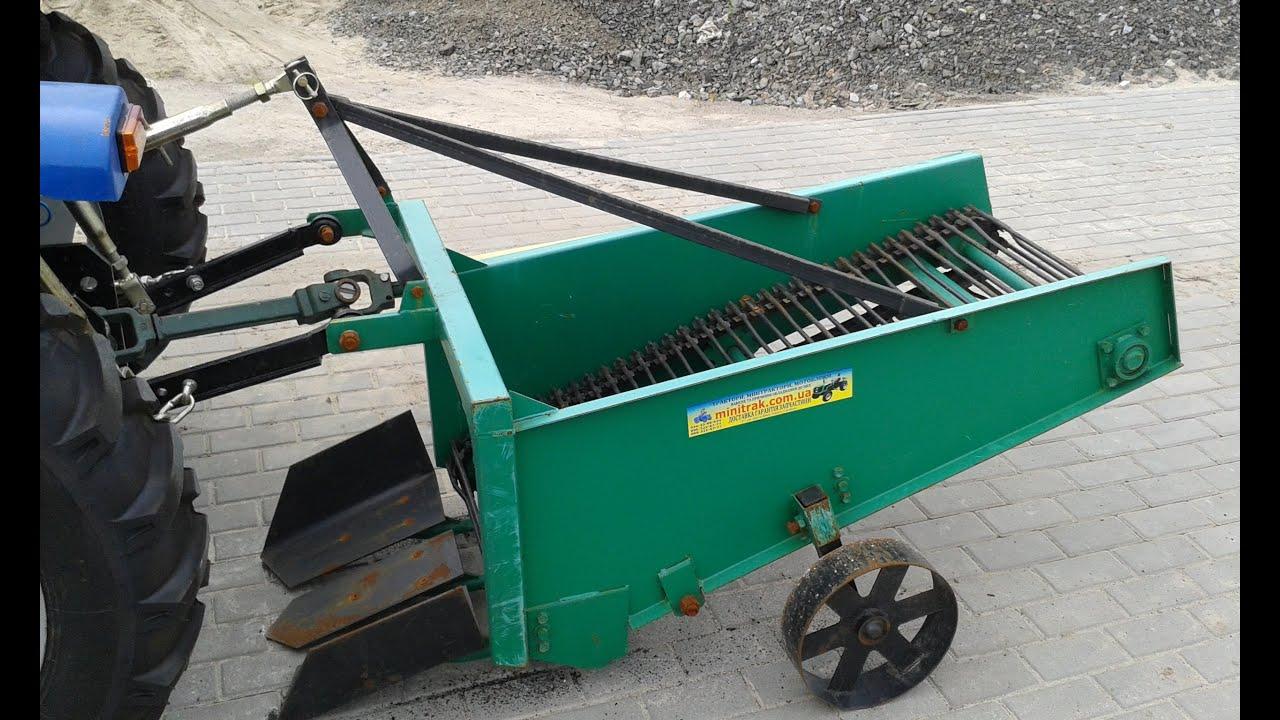 Купить Картофелекопалка КТН-60 транспортерная для трактора .