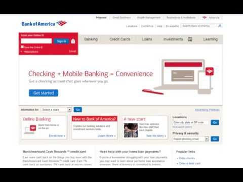 How To Get (Bank Of Amercia) Bank Account In Pakistan