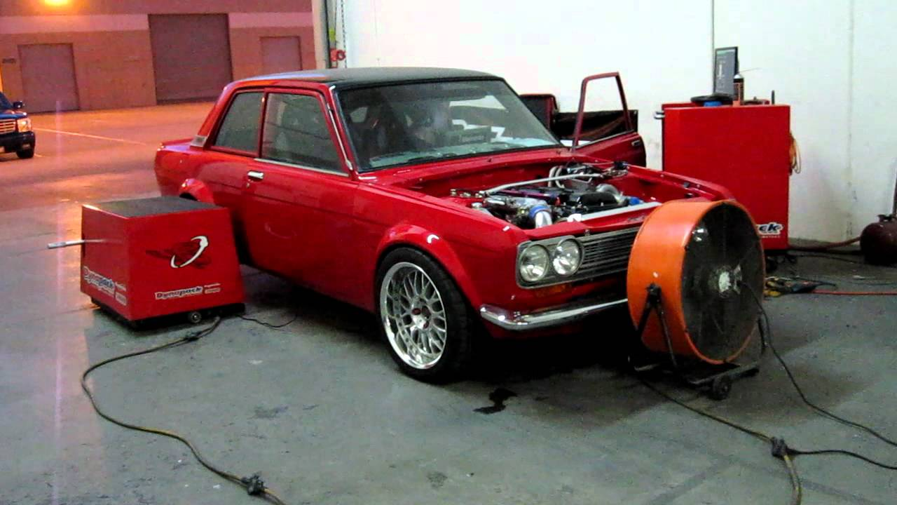 Bisimoto Tuning of a 311whp street Datsun 510, with a ...