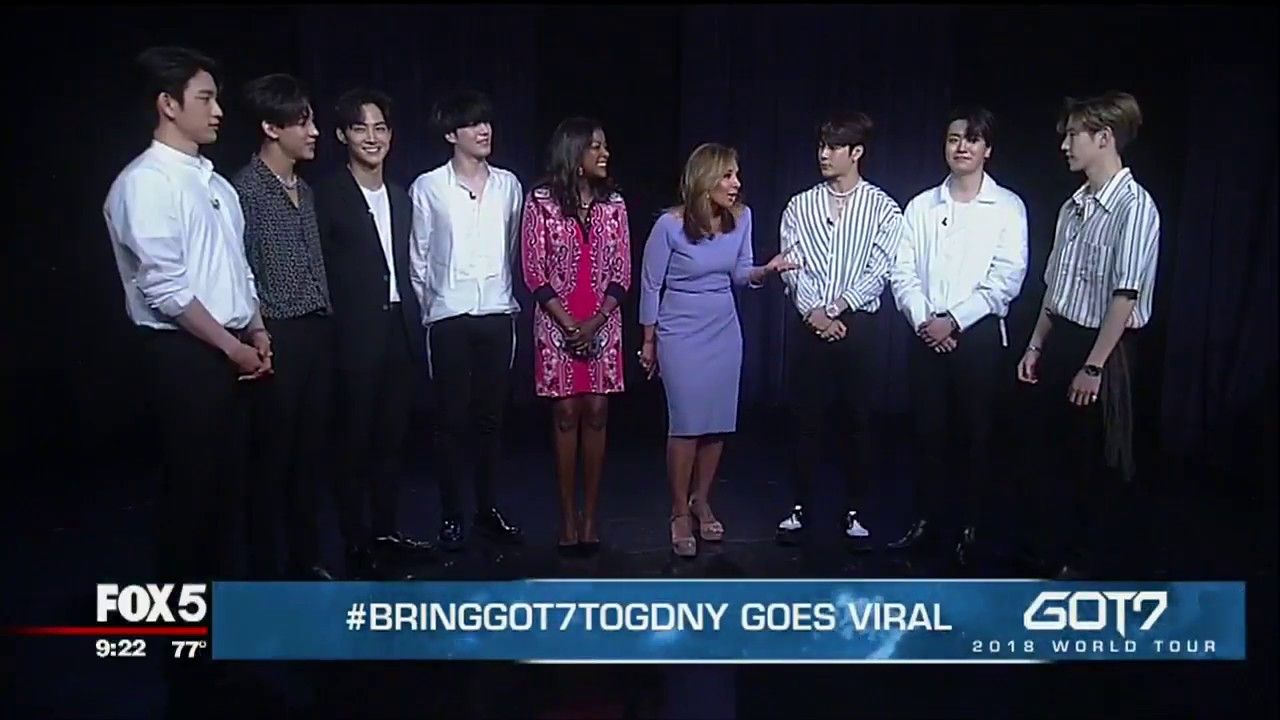 EXCLUSIVE (Part 2): K-Pop sensation GOT7 on Good Day New York