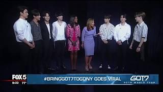 EXCLUSIVE (Part 2): K-Pop sensation GOT7 on Good Day New York