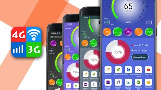 WiFi, 5G, 4G, 3G Speed Test - Speed Check - Free Up & Clean Up Your Phone screenshot 2