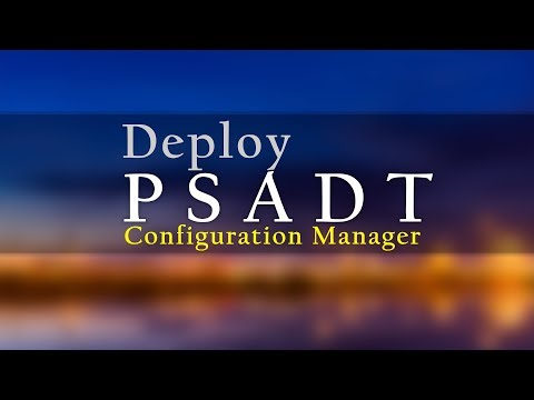 How To Deploy A PowerShell App Deployment Toolkit Application Using Configuration Manager