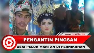 Download Video Viral! Pengantin Pria Pingsan Usai Peluk Mantan yang Menyanyi di Pernikahan MP3 3GP MP4