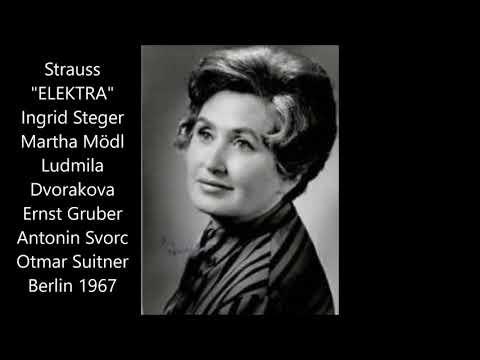 Strauss: Elektra (Berlin 1967, Suitner, Steger, Mödl, Dvorakova)