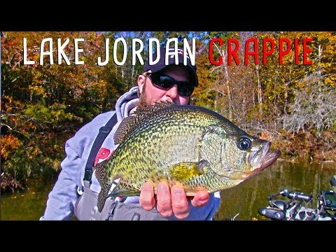 Crappie Fishing Alabama's Lake Jordan