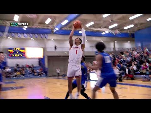 Minnehaha Academy vs. Hopkins High School Basketball - Jalen Suggs - Cornell Richarson