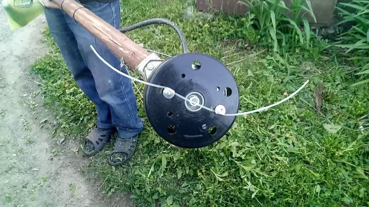 самодельное устройство для триммера