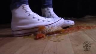 White converse crush cherry tomatoes - Helga Li