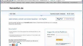PayPal-Zahlung ohne Konto