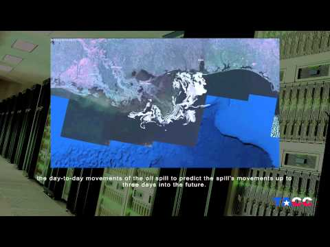 TACC Aids Study of Gulf Oil Spill Impact