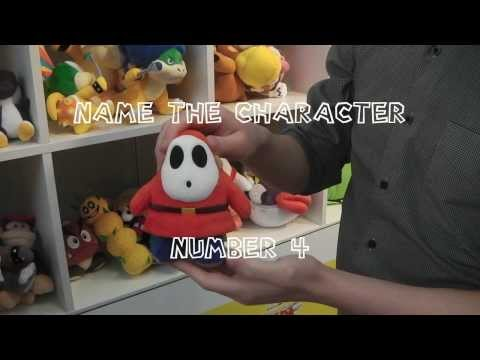 New San-Ei Plush Quiz - Name The Video Game Character Test