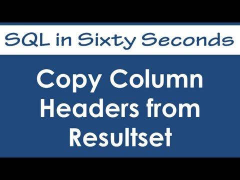 SQL SERVER - Weekly Series - Memory Lane - #048 hqdefault