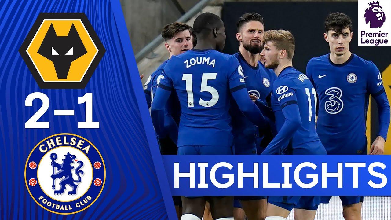 Download Wolves 2-1 Chelsea | Premier League Highlights