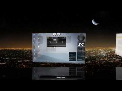 Ubuntu 3d Desktop Cube Kde Compiz Fusion Cairodo