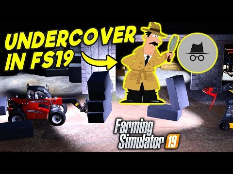 I GO UNDERCOVER IN A FARMING SIMULATOR 19 SERVER thumbnail