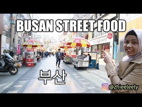 BUSAN 부산 STREET FOOD | KULINER KAKI LIMA KOREA