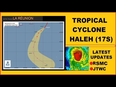 🔴TROPICAL CYCLONE HALEH (17S)~TS(10)~UPDATES FROM: JTWC, METEO FRANCE, RSMC-LA REUNION