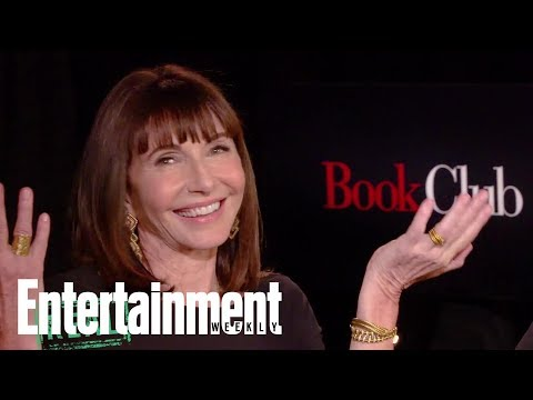 'Book Club' Cast Guesses If '50 Shades Of Grey' Quotes Are Real Or Fake   Entertainment Weekly