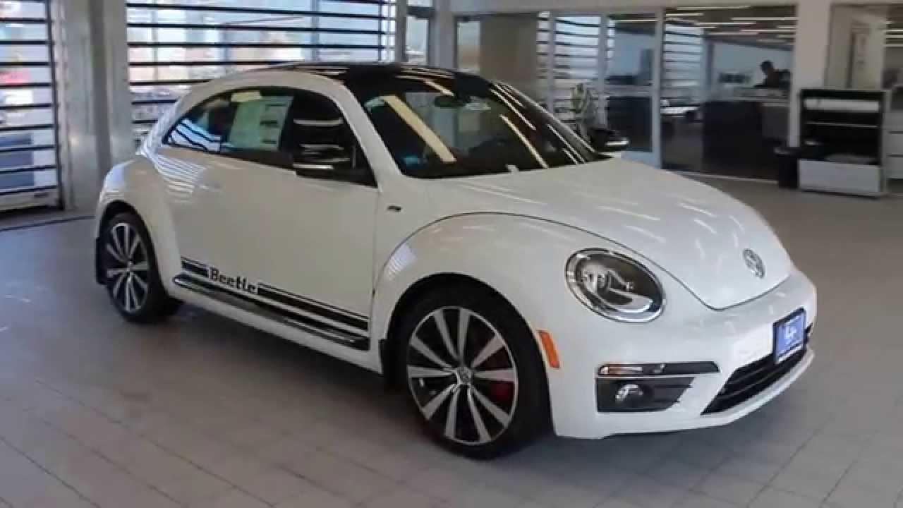 2015 volkswagen beetle pure white stock 110337 walk. Black Bedroom Furniture Sets. Home Design Ideas