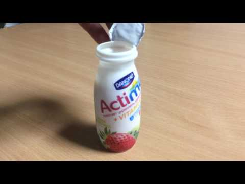 How to Open an Actimel