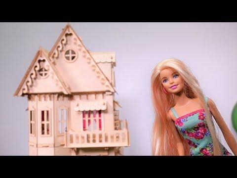 Видео для девочек: новый ДОМ #Барби: празднуем НОВОСЕЛЬЕ c друзьями! Игры Барби на #Мамыидочки