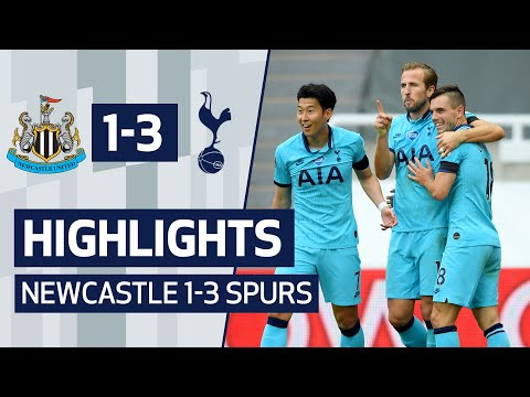 NEWCASTLE 1-3 SPURS