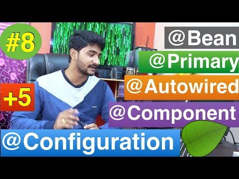 Spring annotation tutorial for beginners |All In1 spring core annotations |spring framework tutorial
