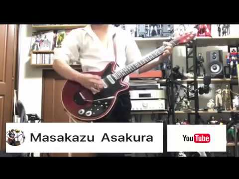 Masakazu Asakura YouTube Channel Playing Queen Covers Brian May Red Special Guitar